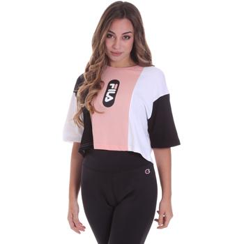 textil Dame T-shirts m. korte ærmer Fila 687943 Lyserød