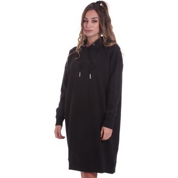textil Dame Korte kjoler Fila 687933 Sort