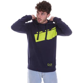 textil Herre Sweatshirts Ea7 Emporio Armani 6HPM78 PJ05Z Blå
