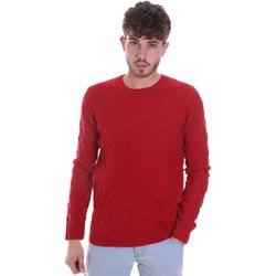 textil Herre Pullovere Gaudi 021GU53034 Rød
