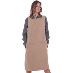 textil Dame Korte kjoler Calvin Klein Jeans K20K202451 Beige