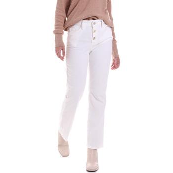 textil Dame Jeans Liu Jo WF0312 T4590 hvid