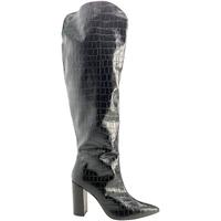 Sko Dame Chikke støvler Grace Shoes 724014 Sort
