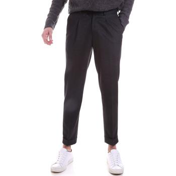 textil Herre Chinos / Gulerodsbukser Sseinse PSI687SS Grå