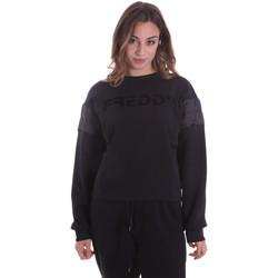 textil Dame Sweatshirts Freddy F0WTBS1 Sort
