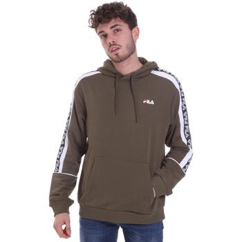 textil Herre Sweatshirts Fila 688815 Grøn