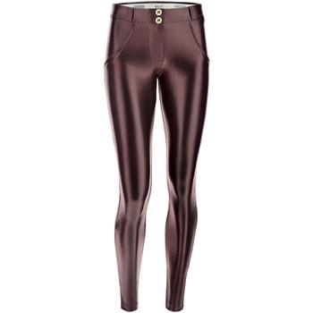 textil Dame Leggings Freddy WRUP2RS925 Brun