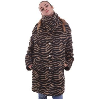 textil Dame Frakker Liu Jo WF0231 T4572 Sort