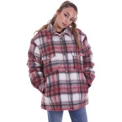 textil Dame Frakker Pepe jeans PL401874 Lyserød