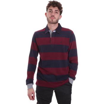 textil Herre T-shirts & poloer Navigare NV30029 Rød