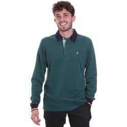 textil Herre Polo-t-shirts m. lange ærmer Navigare NV32023 Grøn