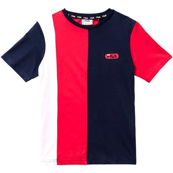textil Børn T-shirts m. korte ærmer Fila 688008 Rød