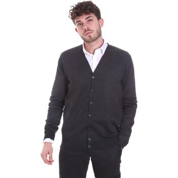 textil Herre Veste / Cardigans Sseinse MI1621SS Grå