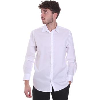 textil Herre Skjorter m. lange ærmer Sseinse CI543SS hvid