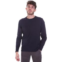 textil Herre Langærmede T-shirts Sseinse MI1691SS Blå