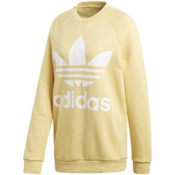 textil Dame Sweatshirts adidas Originals CY4758 Gul