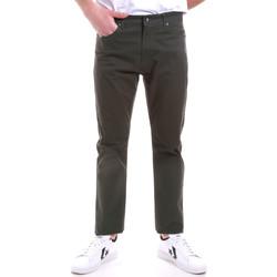 textil Herre Chinos / Gulerodsbukser Navigare NV53090 Grøn