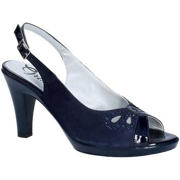 Sko Dame Højhælede sko Grace Shoes E8174 Blå