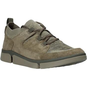 Sko Herre Lave sneakers Clarks 26139567 Grøn
