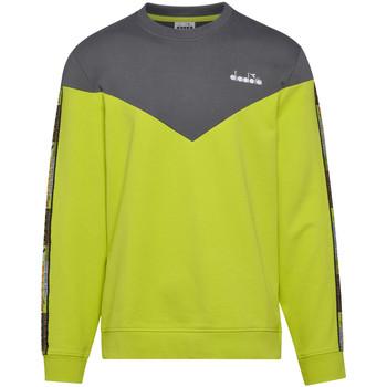 textil Herre Sweatshirts Diadora 502176428 Grøn