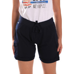 textil Dame Shorts Key Up 5G75F 0001 Blå