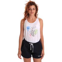 textil Dame Træningsdragter Key Up 5K78A 0001 hvid