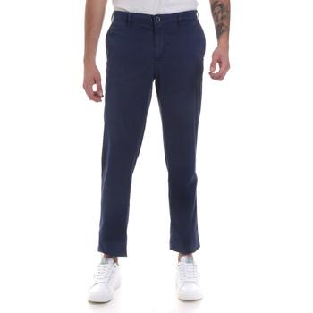 textil Herre Chinos / Gulerodsbukser Navigare NV55183 Blå