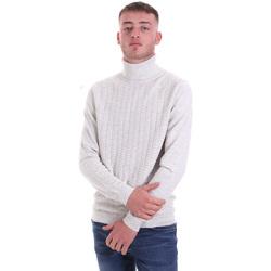 textil Herre Pullovere Antony Morato MMSW01151 YA200066 hvid