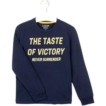 textil Dreng Sweatshirts Losan 023-1007AL Blå