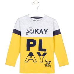 textil Børn Langærmede T-shirts Losan 025-1012AL Gul