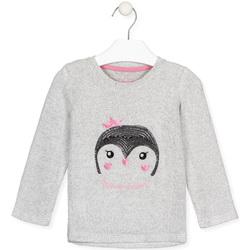 textil Pige Langærmede T-shirts Losan 026-1029AL Grå
