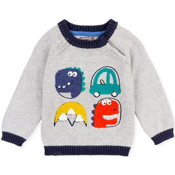 textil Børn Pullovere Losan 027-5004AL Grå