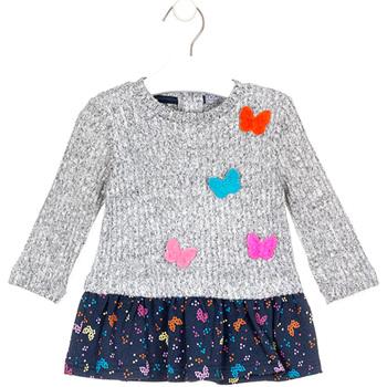 textil Pige Korte kjoler Losan 028-7015AL Grå