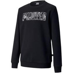 textil Børn Sweatshirts Puma 583235 Sort