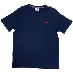 textil Dreng T-shirts m. korte ærmer Fila 688084 Blå