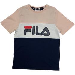 textil Børn T-shirts m. korte ærmer Fila 688141 Lyserød
