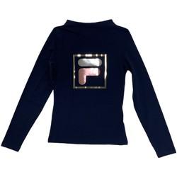 textil Børn Langærmede T-shirts Fila 688102 Blå