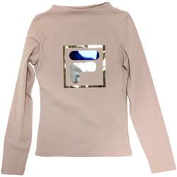 textil Børn Langærmede T-shirts Fila 688102 Beige