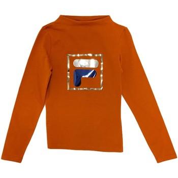 textil Børn Langærmede T-shirts Fila 688102 Orange