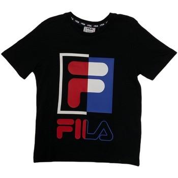 textil Børn T-shirts m. korte ærmer Fila 688149 Blå