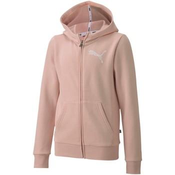 textil Børn Sweatshirts Puma 583291 Lyserød
