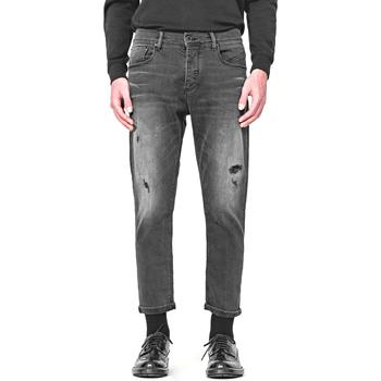 textil Herre Lige jeans Antony Morato MMDT00251 FA750284 Sort