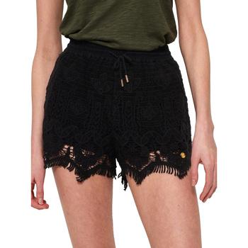textil Dame Shorts Superdry G71102OT Sort