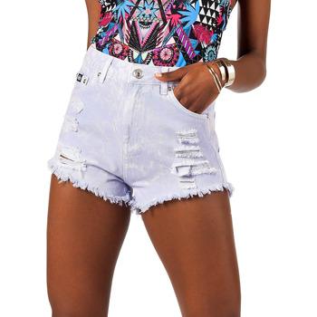 textil Dame Shorts Superdry G75245YQ Violet