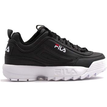 Sko Børn Lave sneakers Fila 1011082 Sort