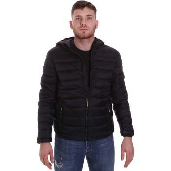 textil Herre Dynejakker Lumberjack CM95222 001 416 Sort