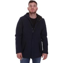 textil Herre Parkaer Lumberjack CM50221 003 404 Blå