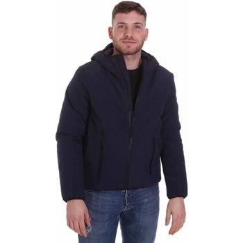 textil Herre Jakker Lumberjack CM95124 001 404 Blå