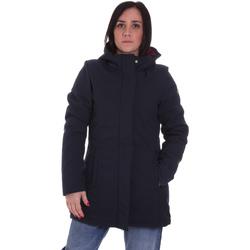 textil Dame Parkaer Lumberjack CW96021 001 404 Blå
