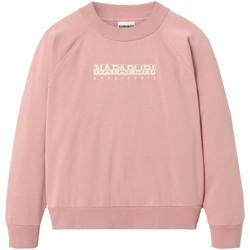 textil Dame Sweatshirts Napapijri NP0A4EOG Lyserød